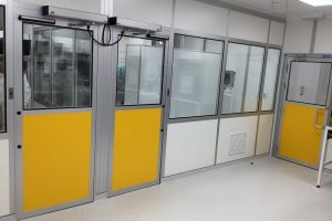 Seven Grade C clean labs